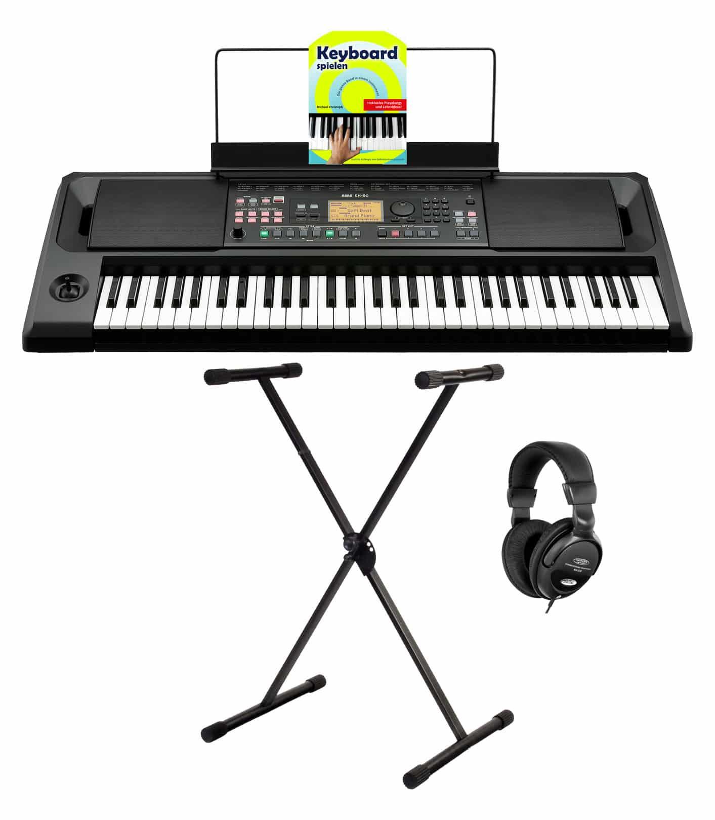 Homekeyboards - Korg EK 50 Keyboard Set - Onlineshop Musikhaus Kirstein