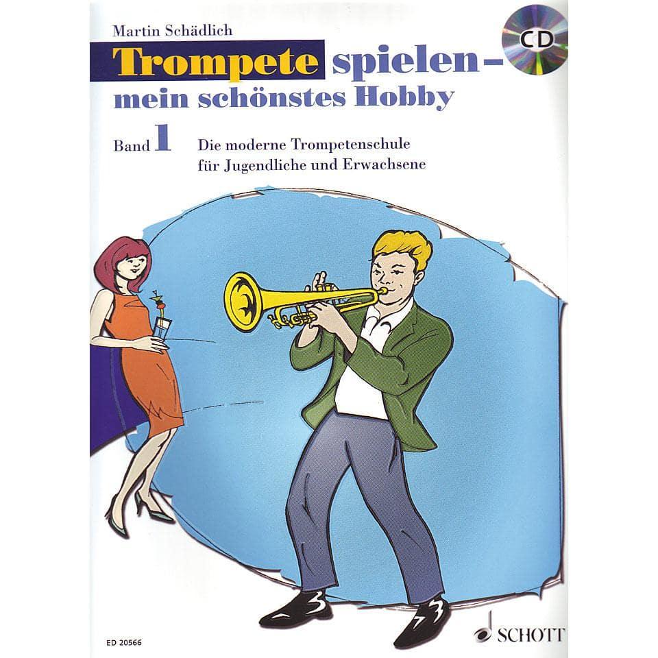 Trompetelernen - Trompete spielen mein schönstes Hobby 1 - Onlineshop Musikhaus Kirstein