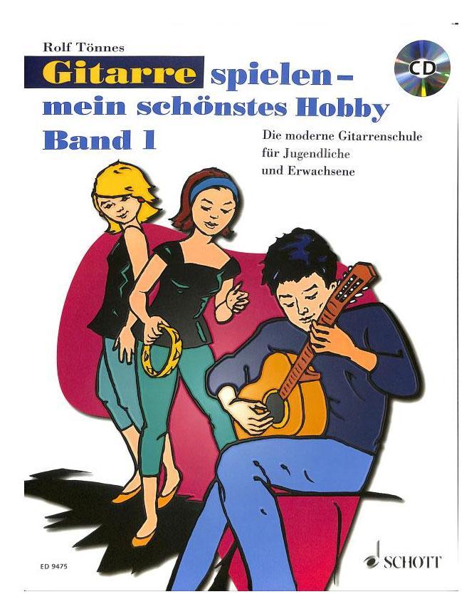 Gitarrelernen - Gitarre spielen Mein schönstes Hobby Band 1 CD - Onlineshop Musikhaus Kirstein