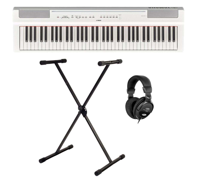 Yamaha P 121WH Stage Piano Set Weiß