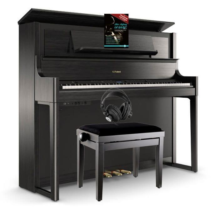 Digitalpianos - Roland LX708 CH Digitalpiano Set Anthrazit - Onlineshop Musikhaus Kirstein