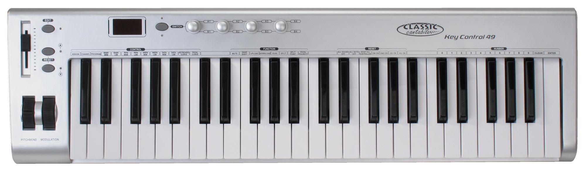 Classic Cantabile MK 49 USB Midi Keyboard