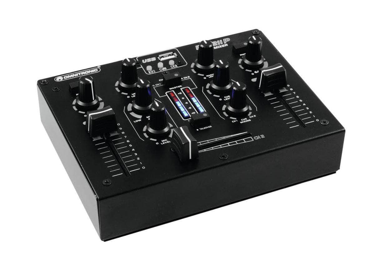 Djmixer - Omnitronic PM 211P DJ Mixer mit Player - Onlineshop Musikhaus Kirstein