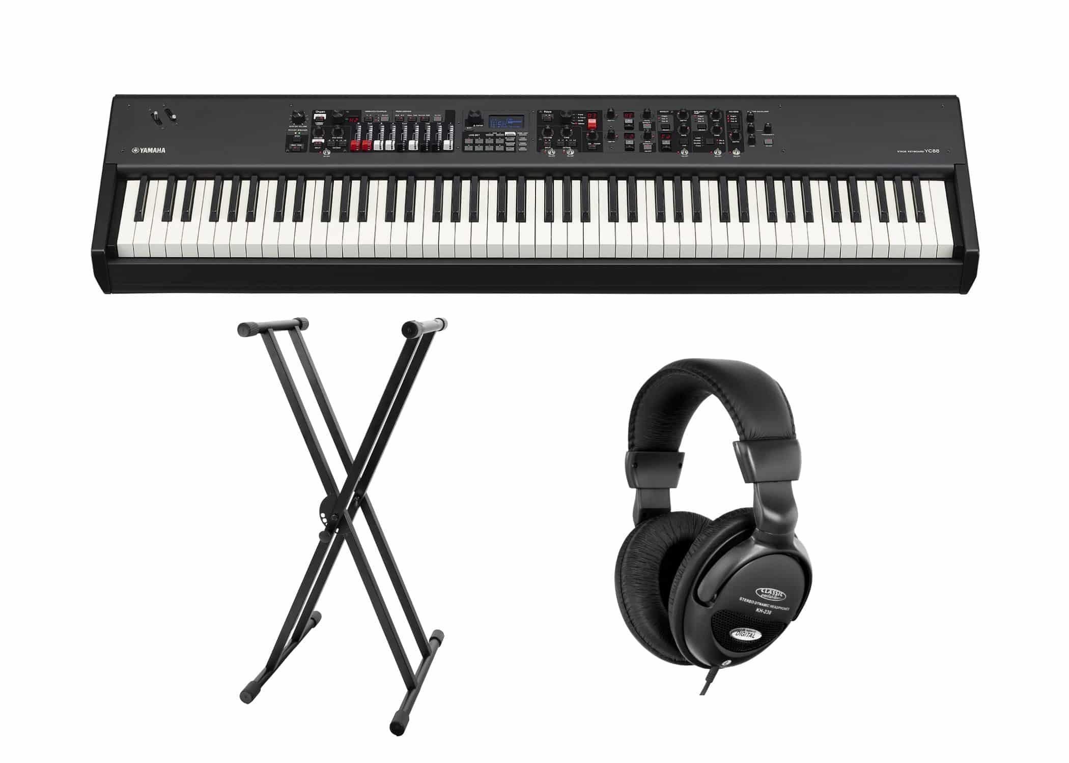 Stagepianos - Yamaha YC88 Stagekeyboard Set - Onlineshop Musikhaus Kirstein