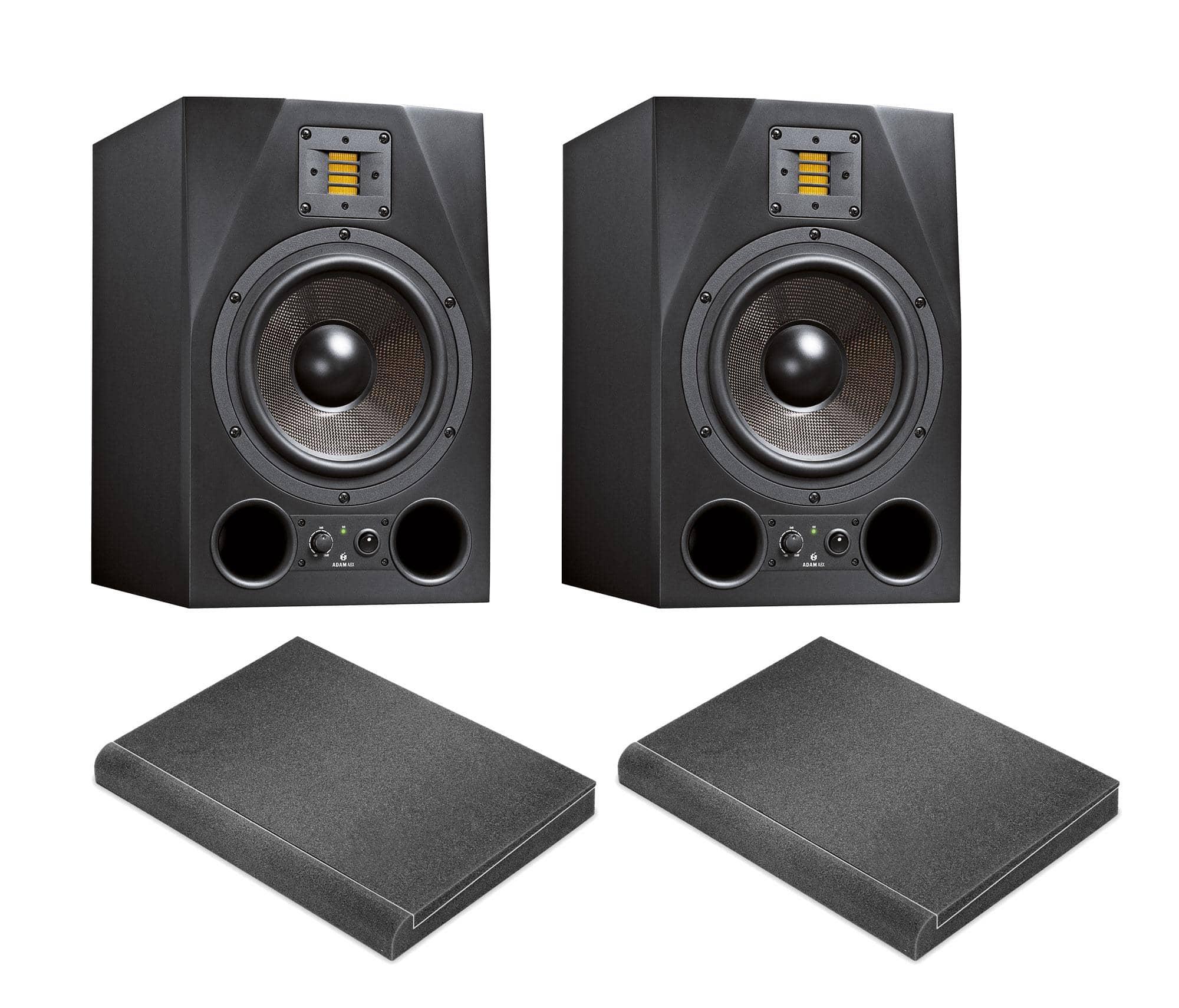 Studiomonitore - Adam Audio A8X ISO Bundle - Onlineshop Musikhaus Kirstein