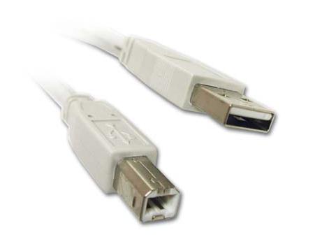 Kabelmulticores - Kirstein USB 2.0 Kabel A zu B (1,8 m) - Onlineshop Musikhaus Kirstein
