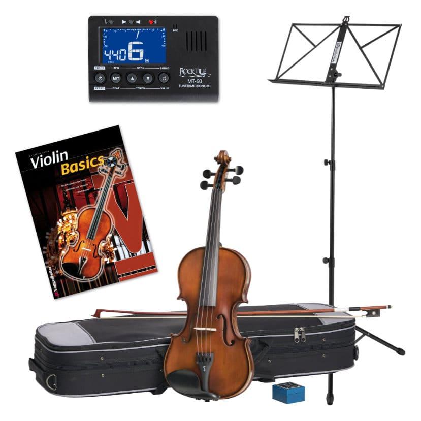 Violinen - Stentor SR1542 3|4 Graduate Violinset inkl. Zubehör Noten - Onlineshop Musikhaus Kirstein