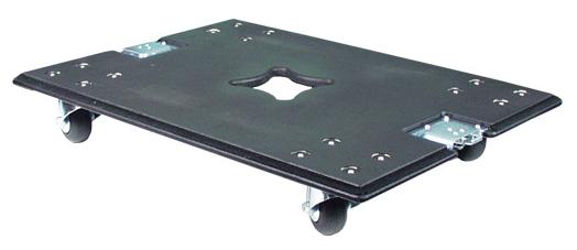 Acoustic Line Frontdeckel mit Lenkrollen