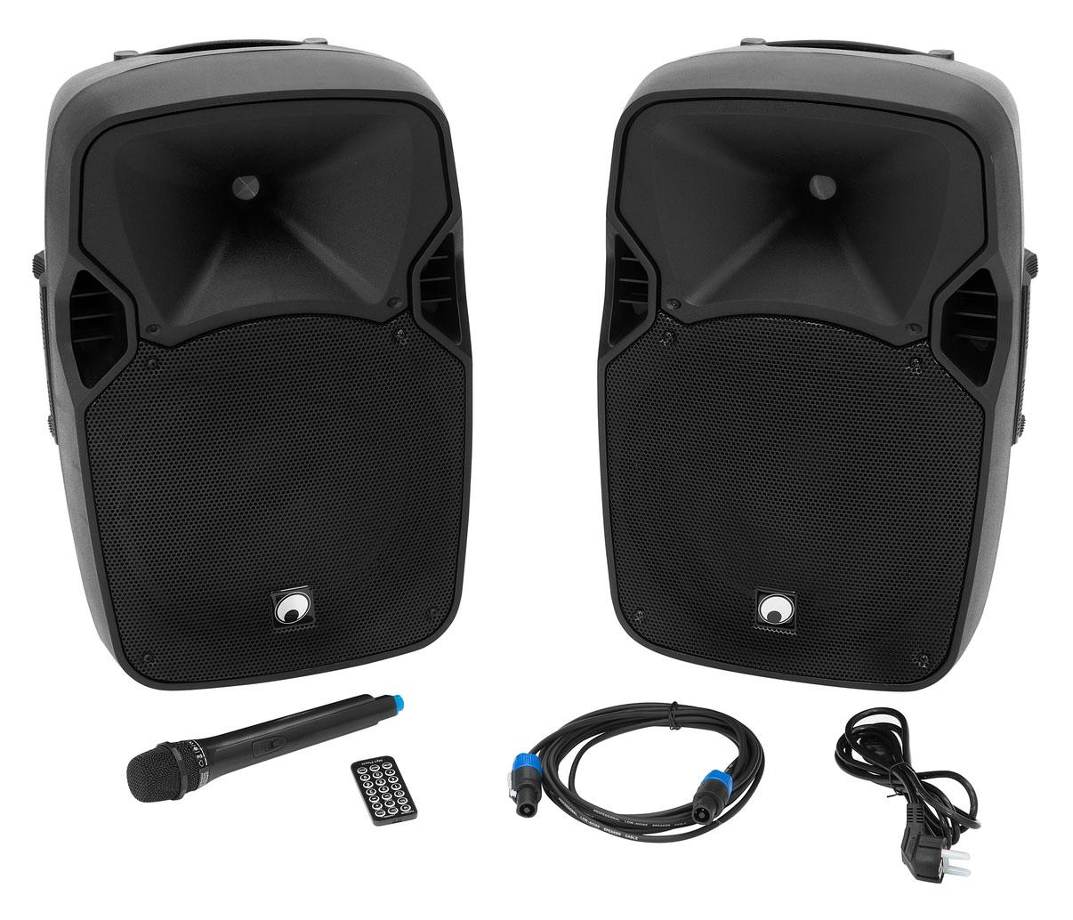 Omnitronic XFM 212AP Aktives Lautsprecherset