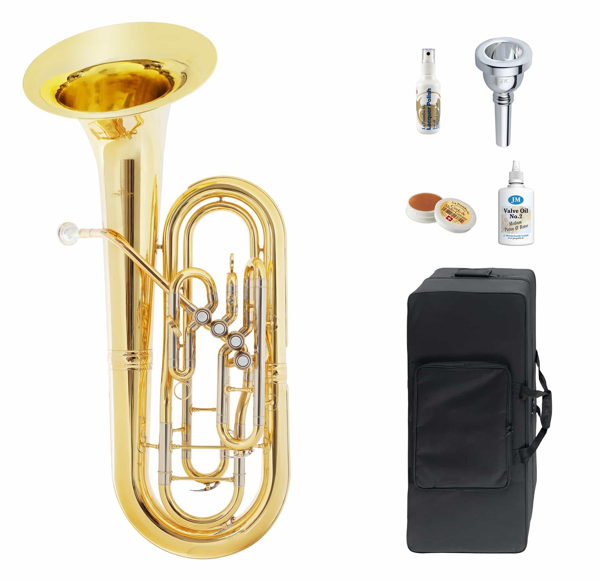 Baritone - Lechgold OB 19|4 Oberkrainer Bariton Deluxe Set - Onlineshop Musikhaus Kirstein