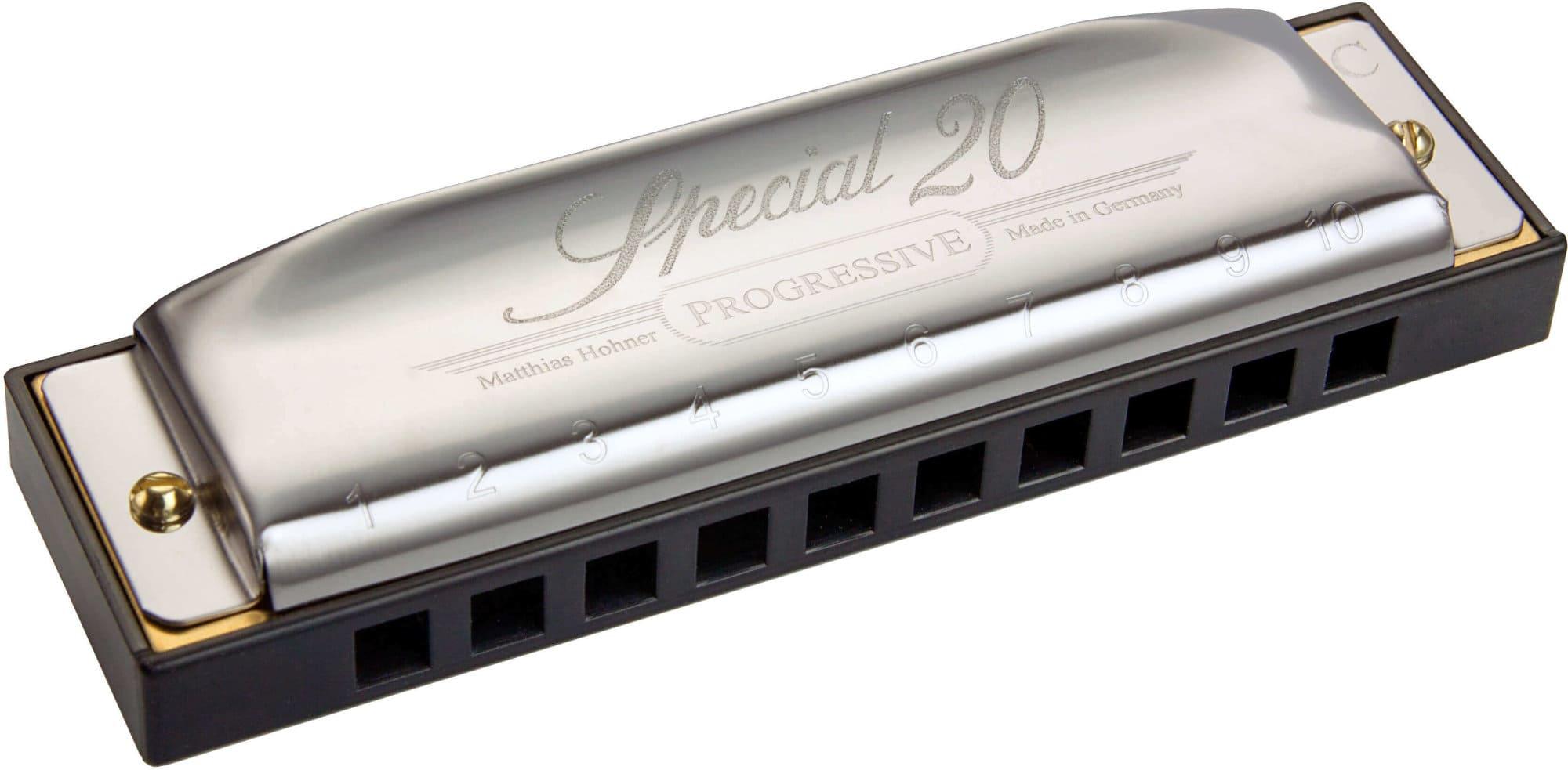 Hohner Progressive Special 20 Mundharmonika C Dur