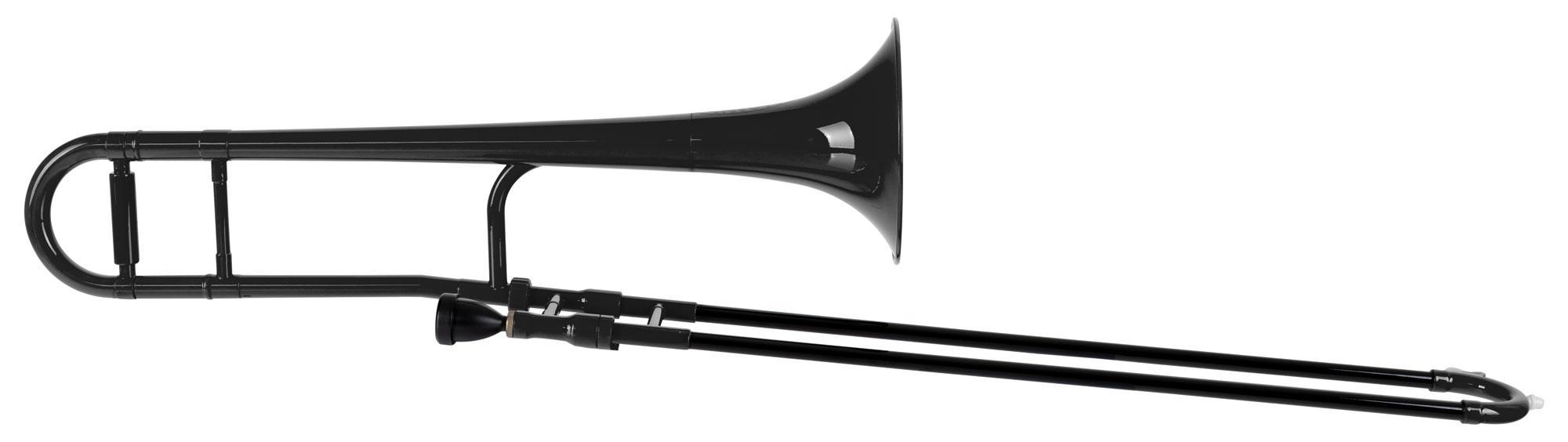 Posaunen - Classic Cantabile MardiBrass Kunststoff Bb Tenorposaune Jazzposaune schwarz - Onlineshop Musikhaus Kirstein