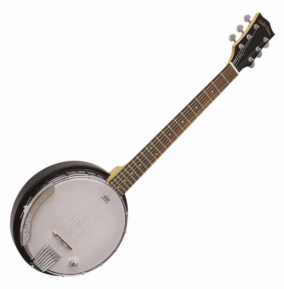 Gold Tone AC 6 Acoustic Composite Banjo Guitar