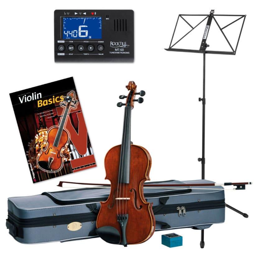 Violinen - Stentor SR1550 4|4 Conservatoire Violinset inkl. Zubehör Noten - Onlineshop Musikhaus Kirstein