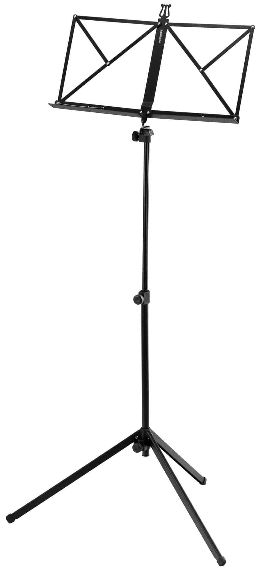 McGrey 100|2 B Notenständer schwarz, mit Tasche