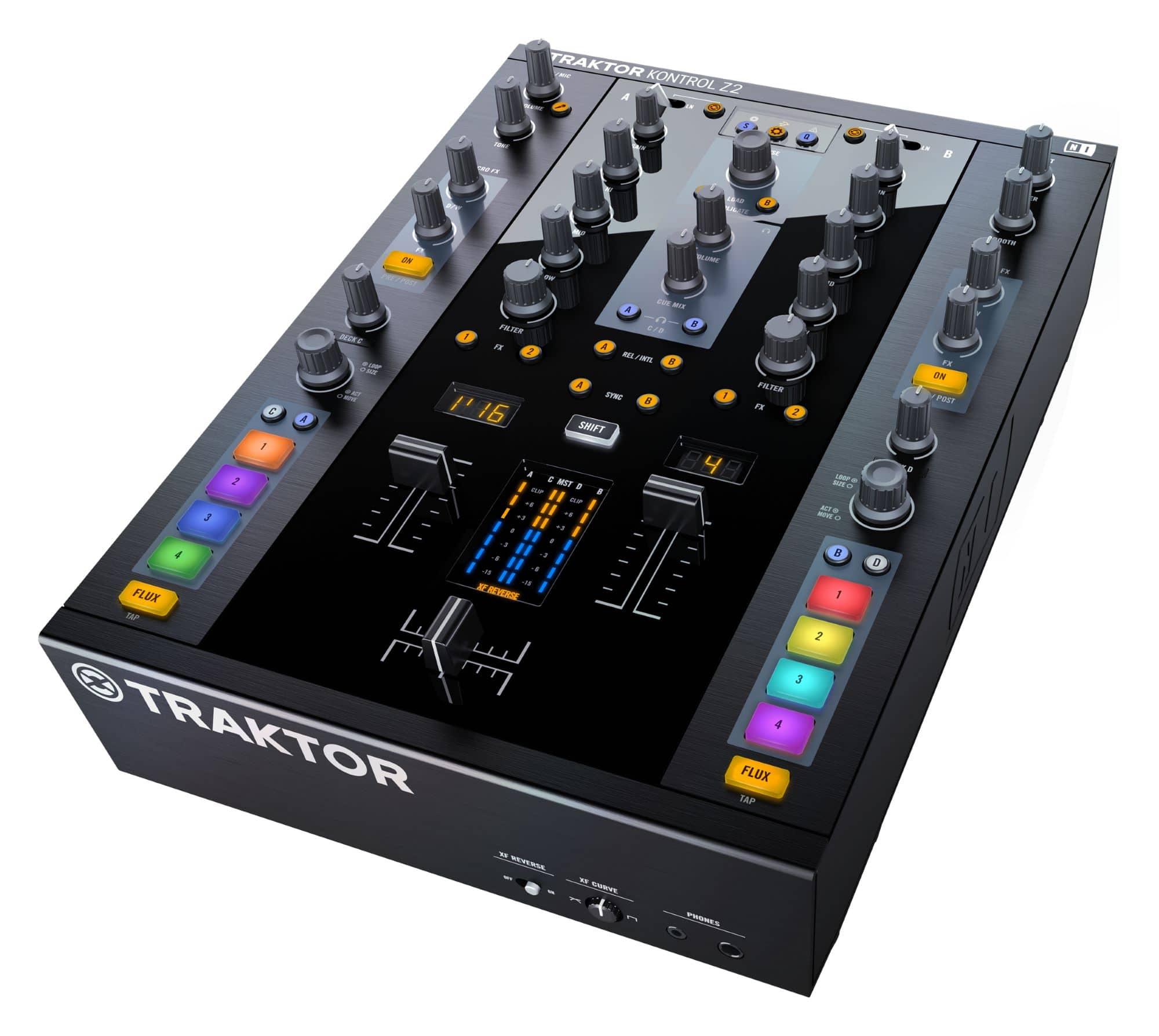 Djmixer - Native Instruments TRAKTOR KONTROL Z2 - Onlineshop Musikhaus Kirstein
