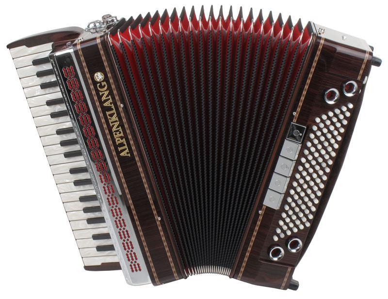 Akkordeons - Alpenklang Pro Akkordeon IV 96 MHR Palisander - Onlineshop Musikhaus Kirstein