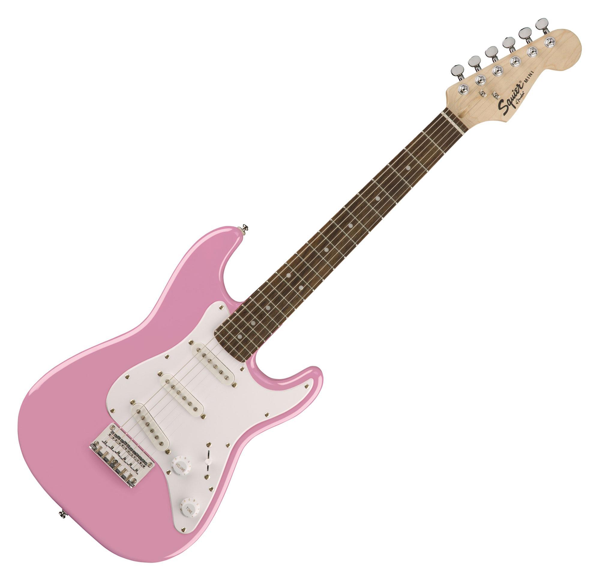Fender Squier Mini Strat V2 IL PNK Retoure (Zustand sehr gut)