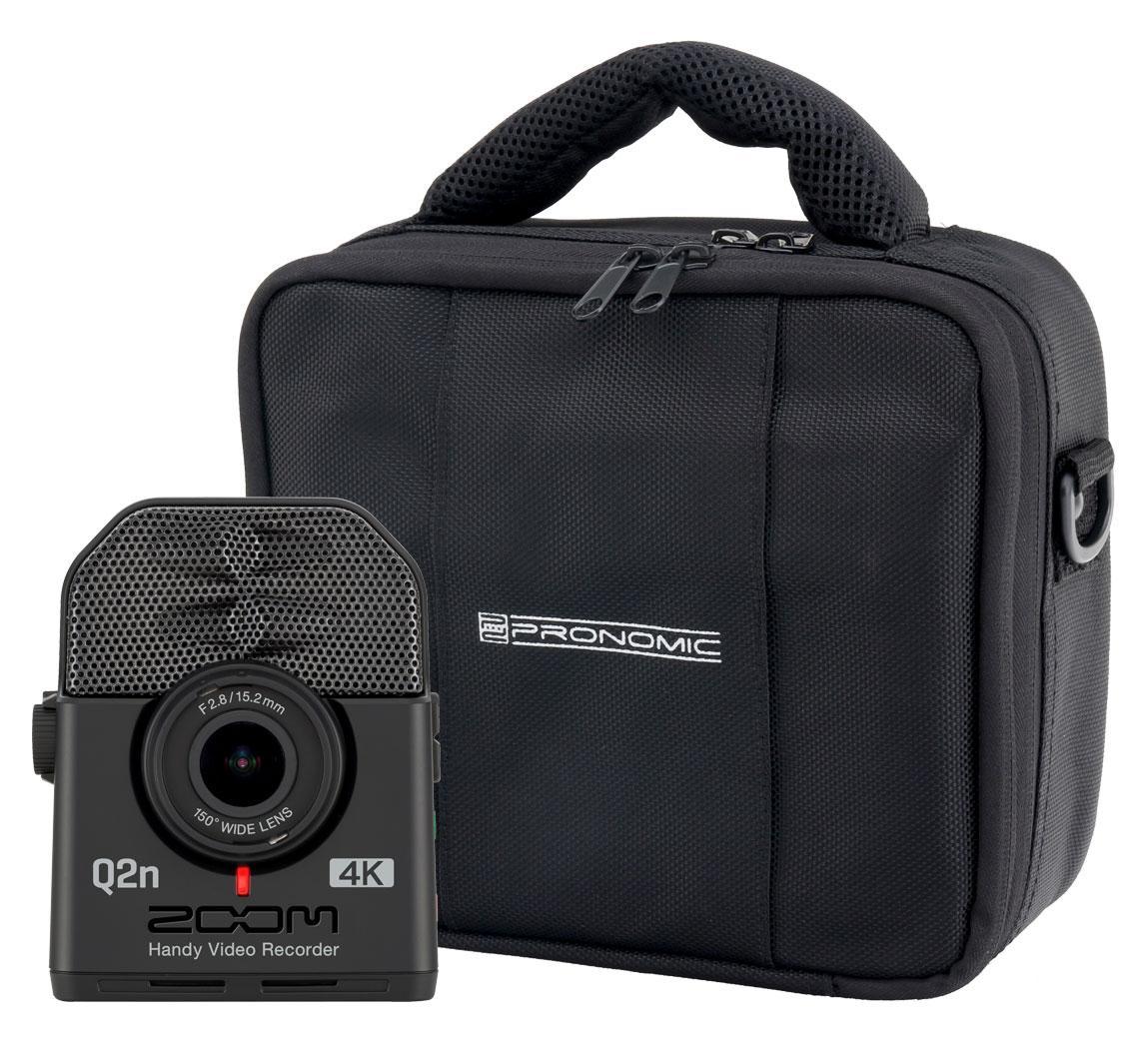 Zoom Q2N 4K Handy Video Recorder Set mit Tasche