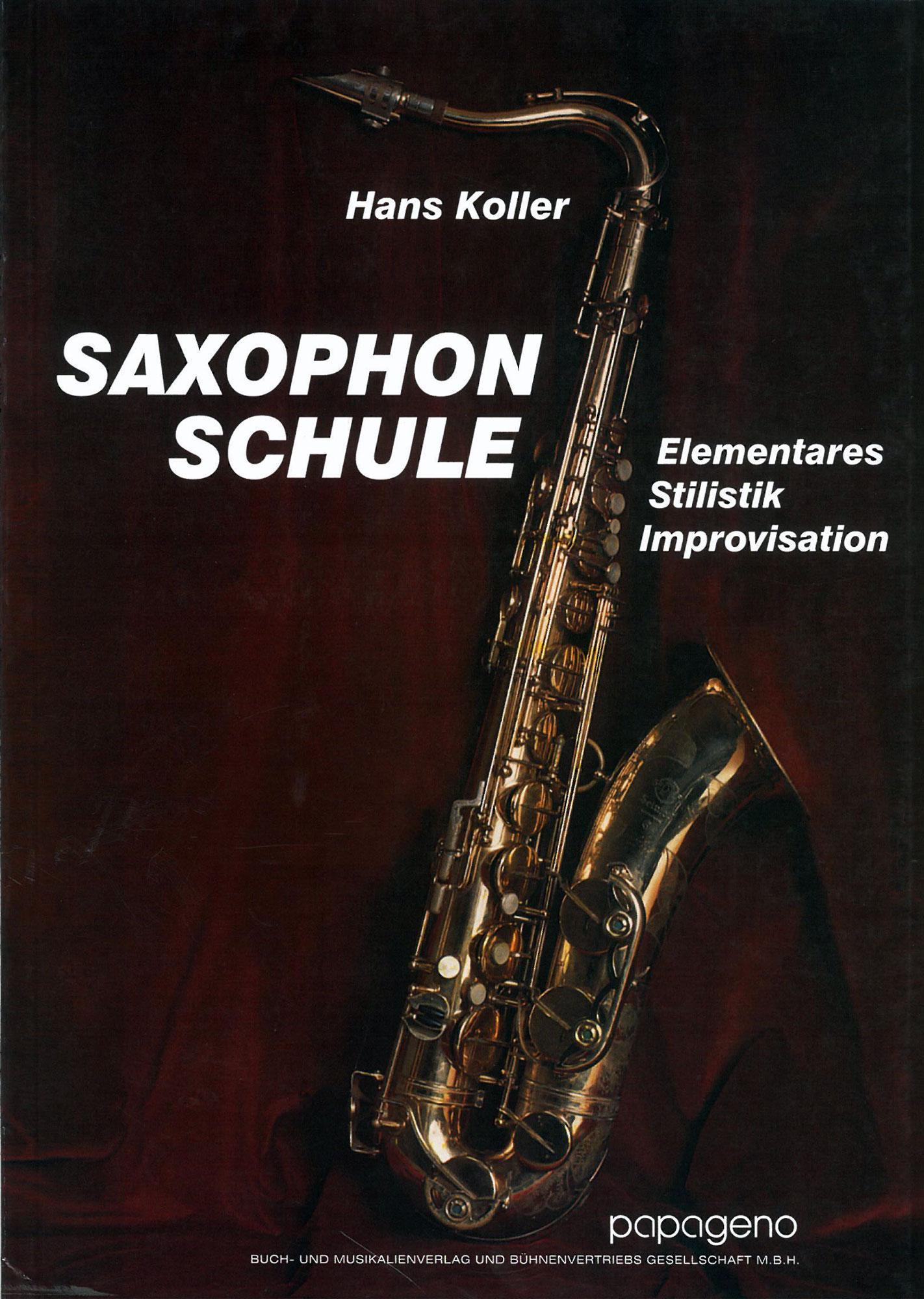 Saxophonlernen - Hans Koller Saxophon Schule - Onlineshop Musikhaus Kirstein