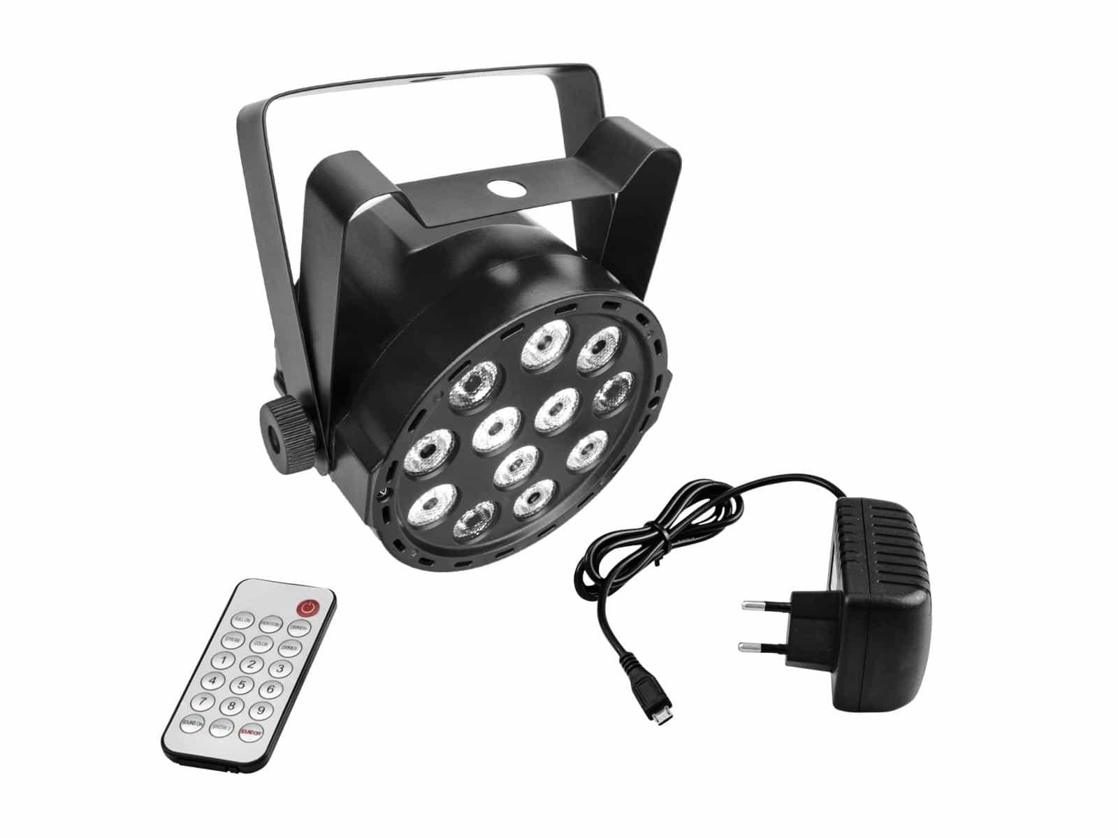 Scheinwerfer - Eurolite Akku Mini PARty RGBW Spot Scheinwerfer - Onlineshop Musikhaus Kirstein