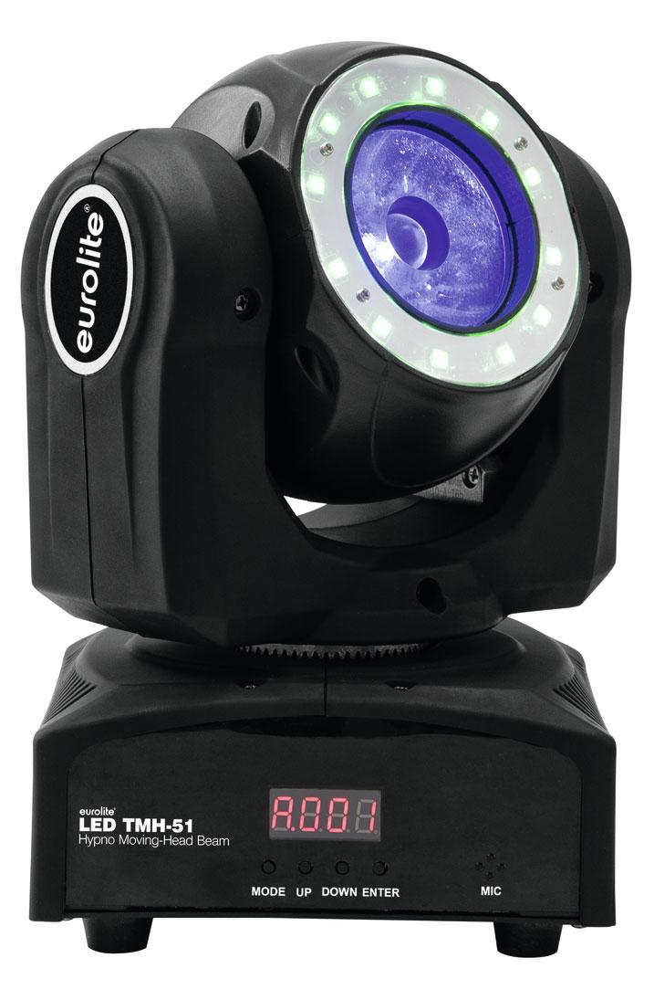 Bewegteslicht - Eurolite LED TMH 51 Hypno Beam Moving Head - Onlineshop Musikhaus Kirstein