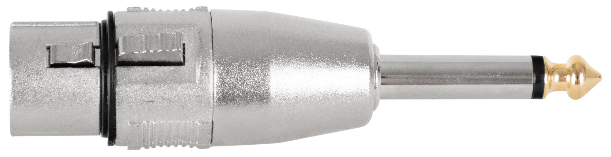 Kabelmulticores - Pronomic AD JMXF Adapter 6,3mm Mono Klinke male | XLR female - Onlineshop Musikhaus Kirstein