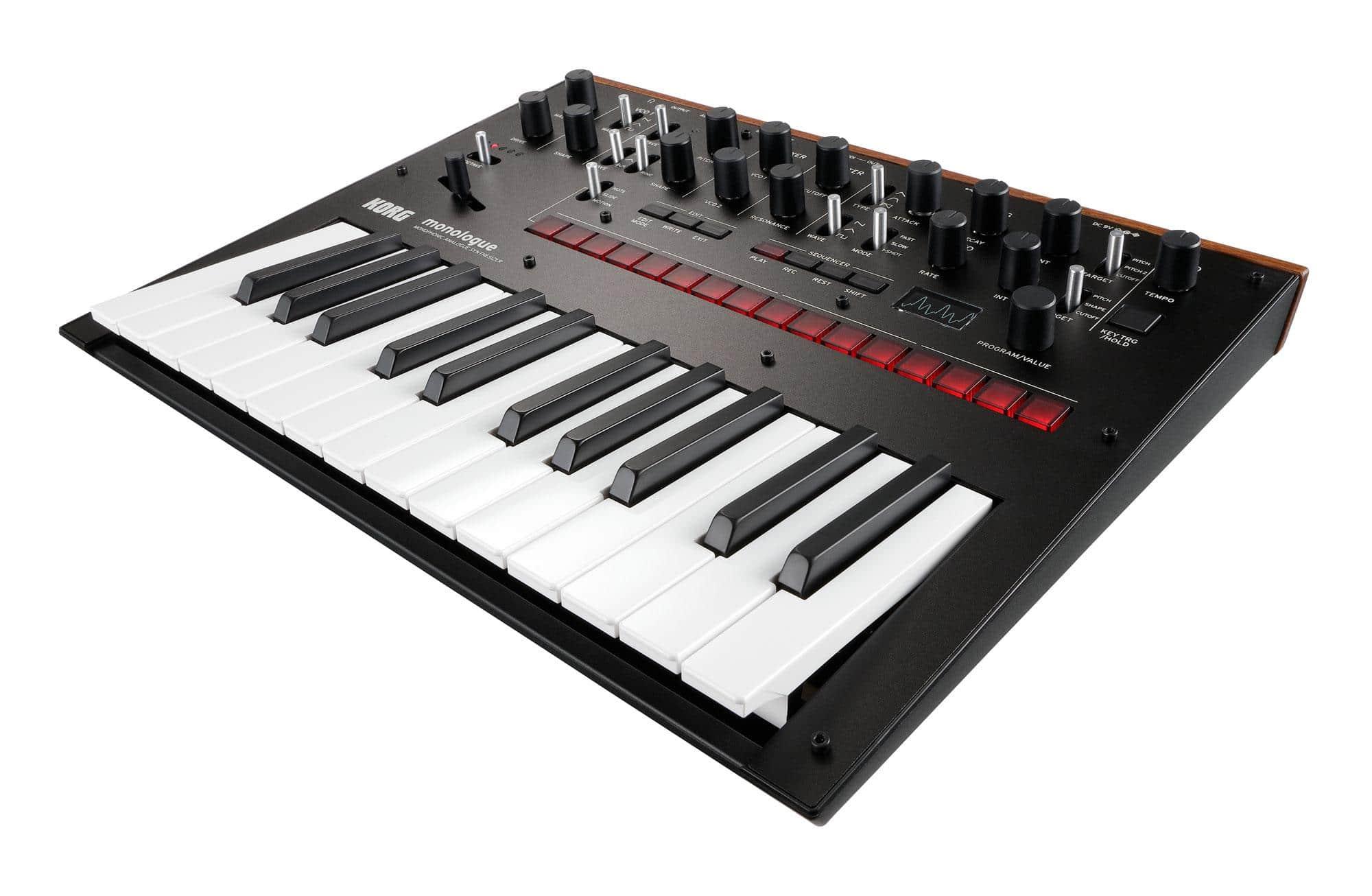 Synthesizer - Korg Monologue BK - Onlineshop Musikhaus Kirstein