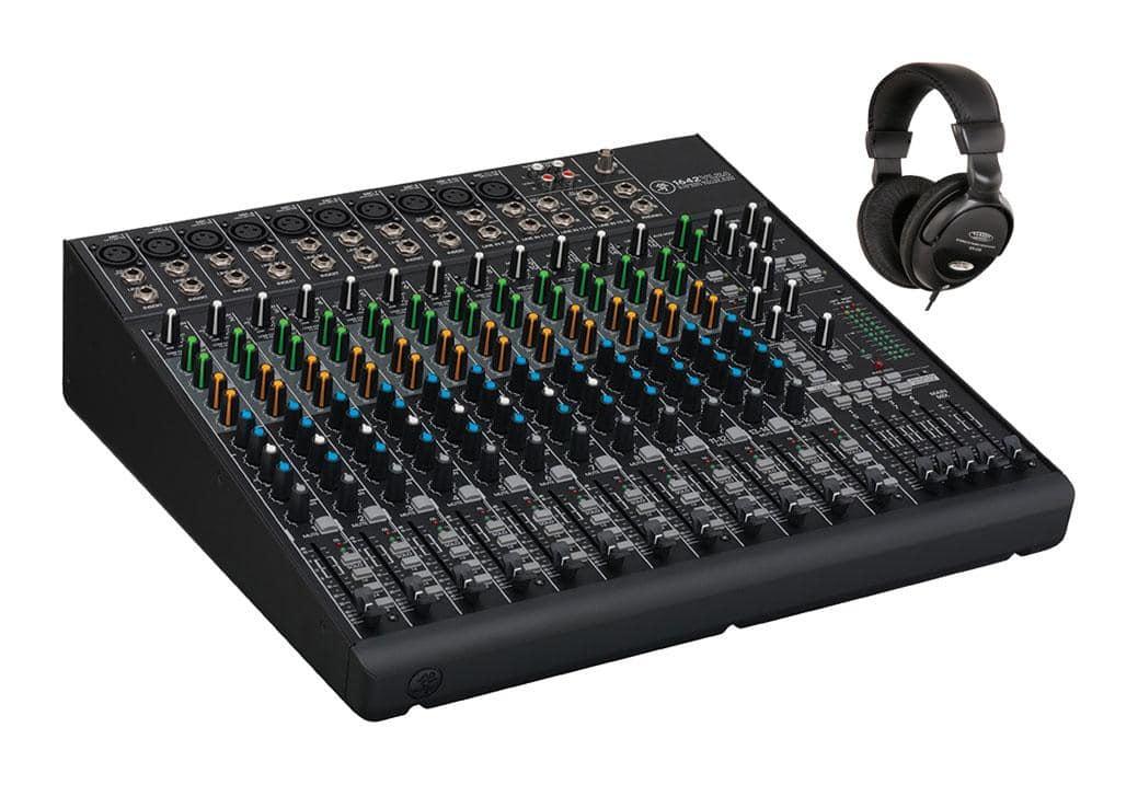 Mischpulte - Mackie 1642VLZ4 Mischpult mit Kopfhörer Set - Onlineshop Musikhaus Kirstein