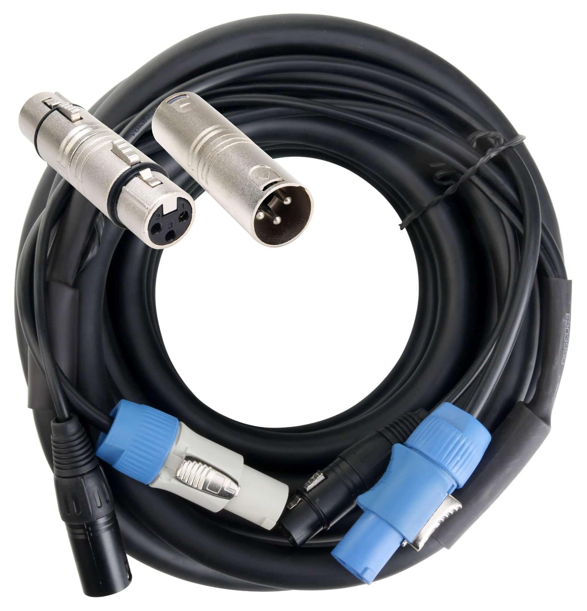 Pronomic Stage PPX 10 Hybridkabel Powerplug|XLR