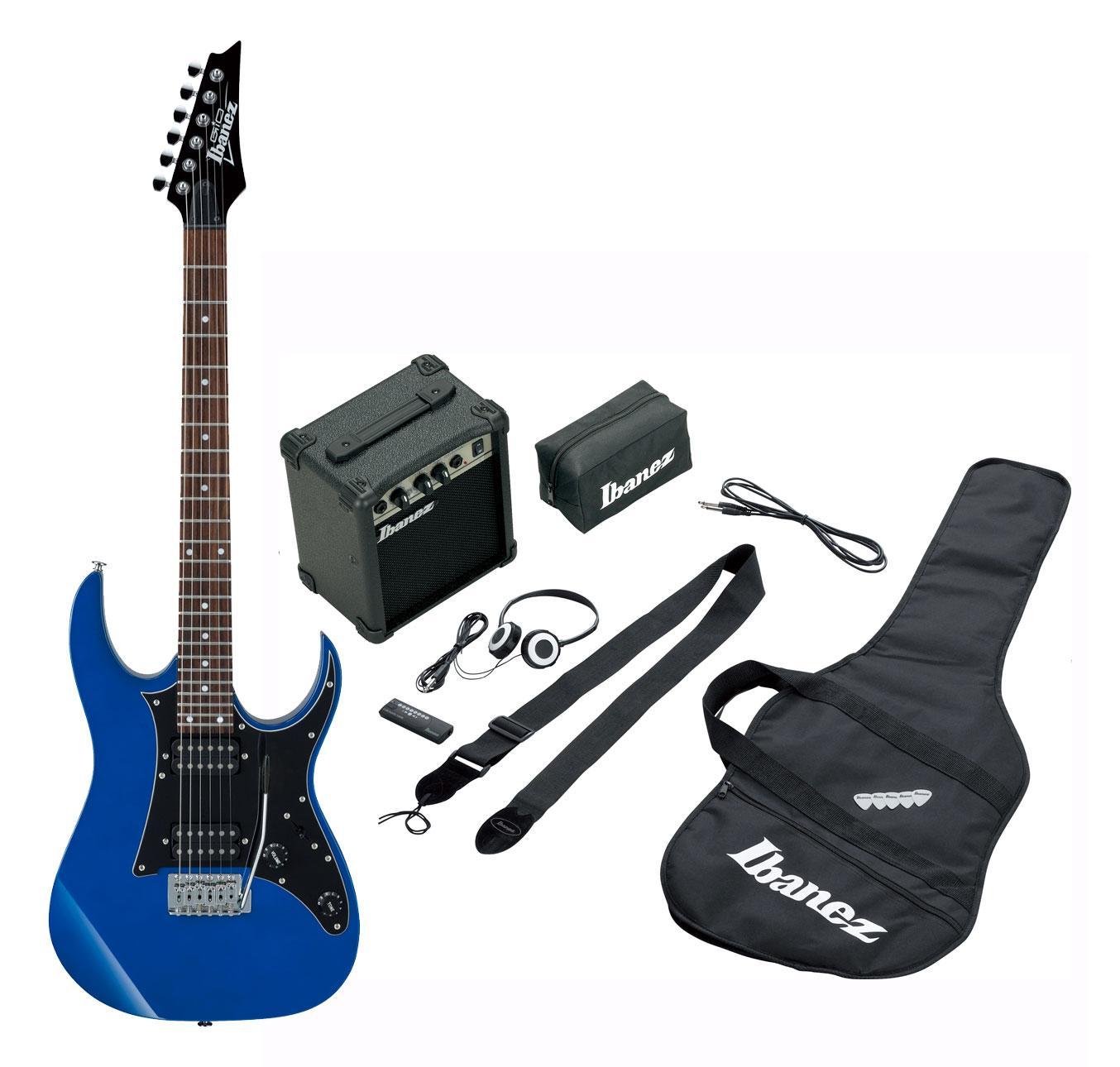 Egitarren - Ibanez IJRG200 JB Jumpstart Pack Jewel Blue Retoure (Zustand gut) - Onlineshop Musikhaus Kirstein