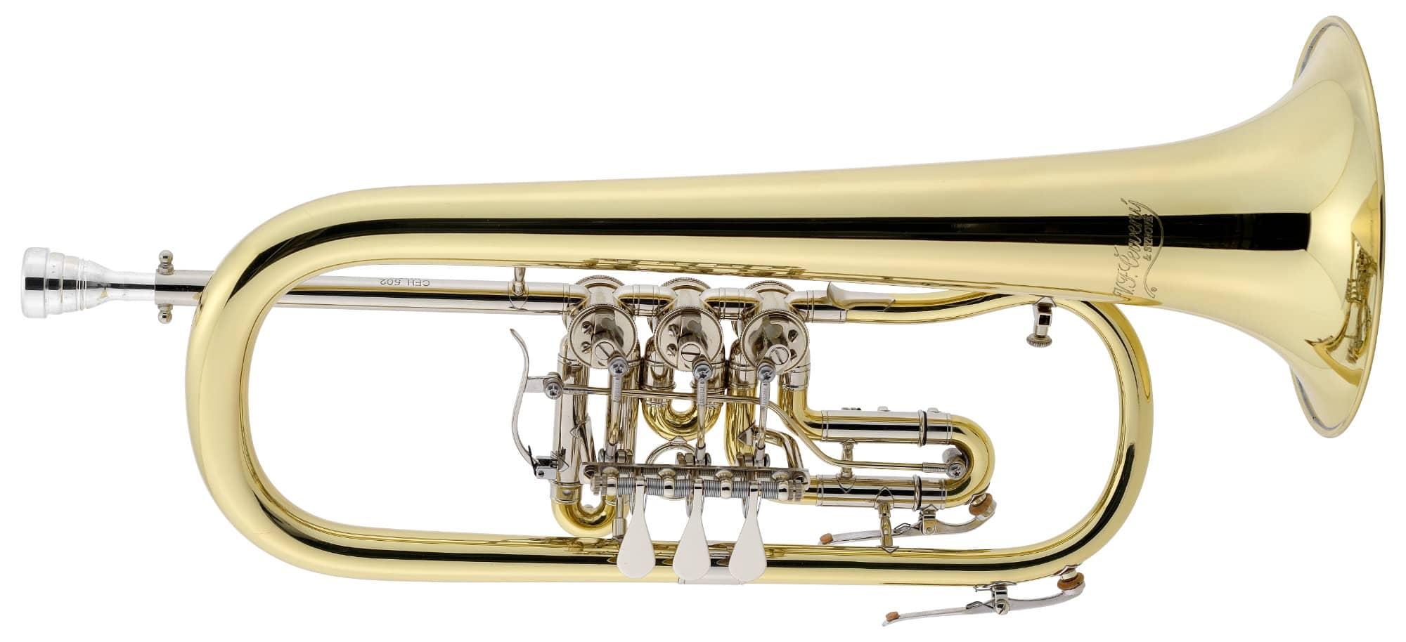 Hoerner - Cerveny CFH502 Flügelhorn - Onlineshop Musikhaus Kirstein