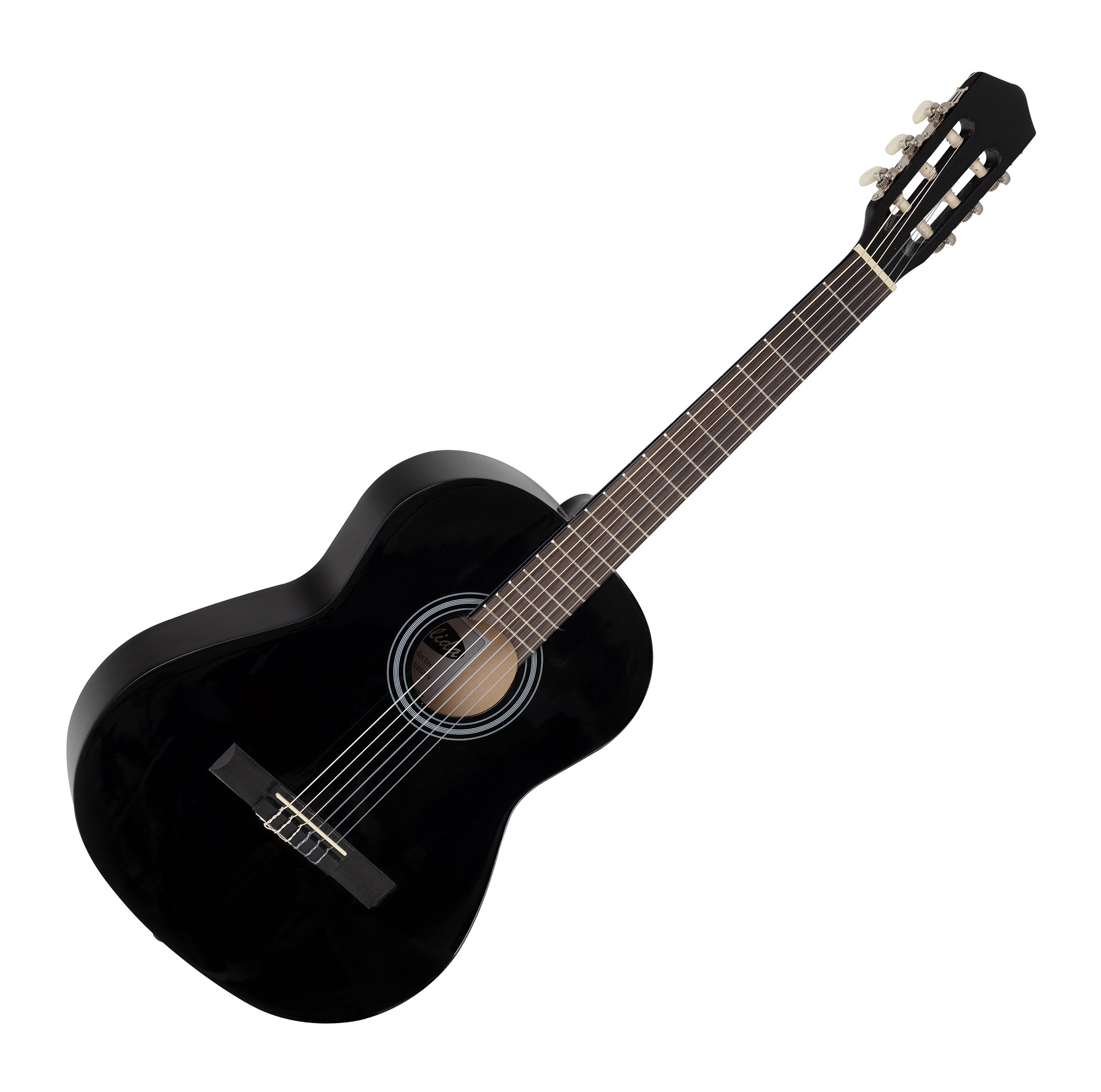 Calida Benita Konzertgitarre 7 8 schwarz