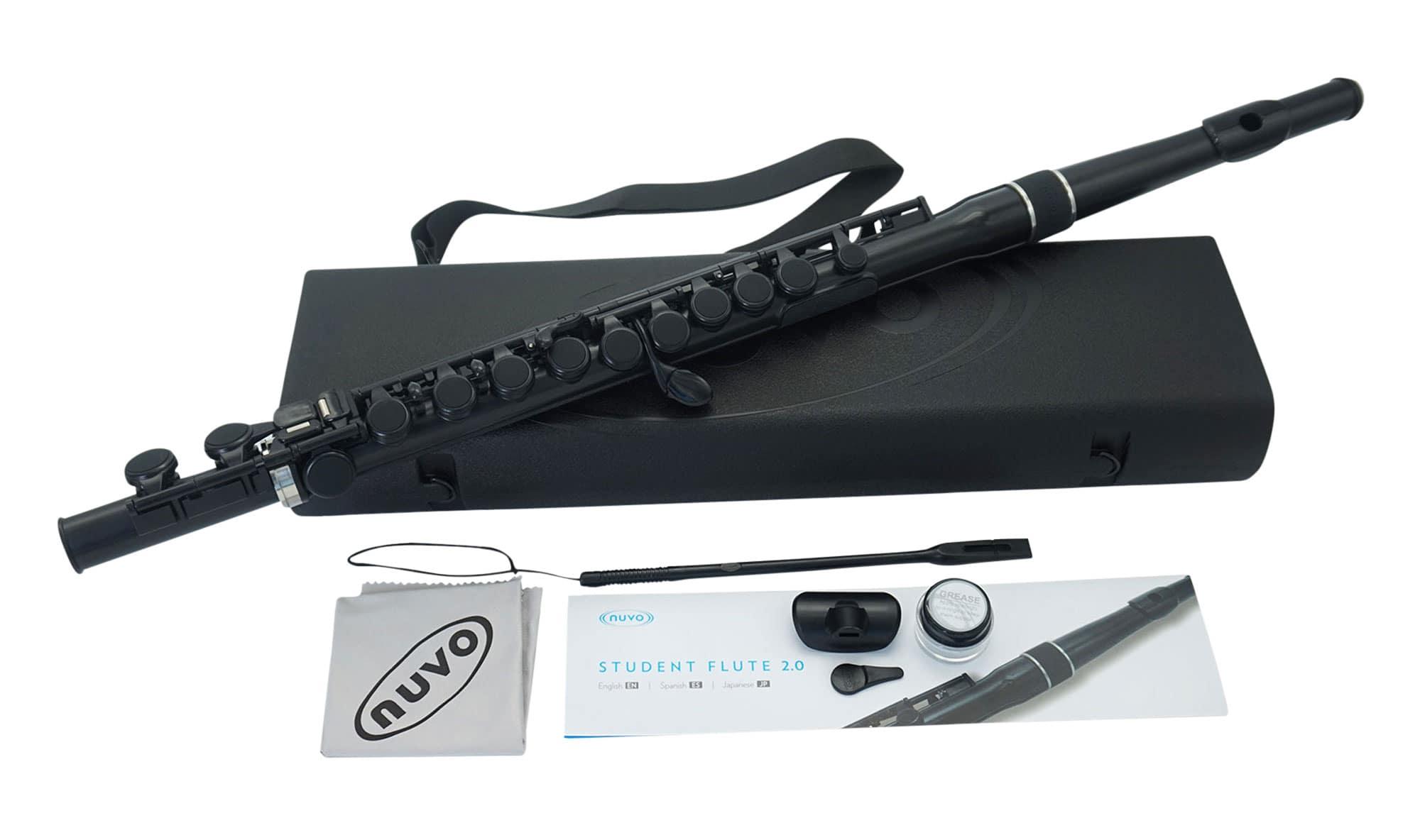 Sonstigeblasinstrumente - Nuvo Student Flute 2.0 Schwarz - Onlineshop Musikhaus Kirstein