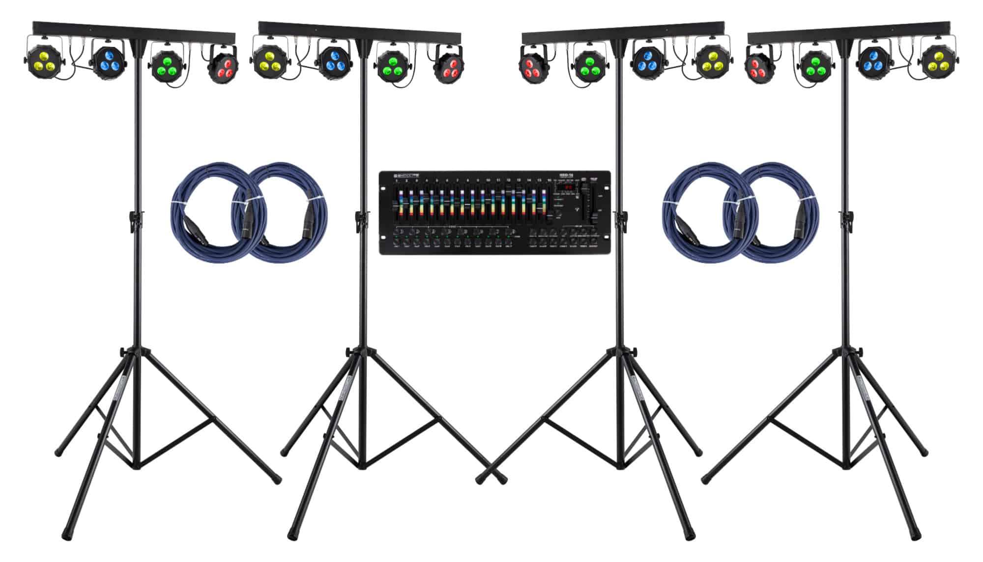 Lichtsets - Showlite LB 427 LED RGB Set für mobile Bühnen - Onlineshop Musikhaus Kirstein