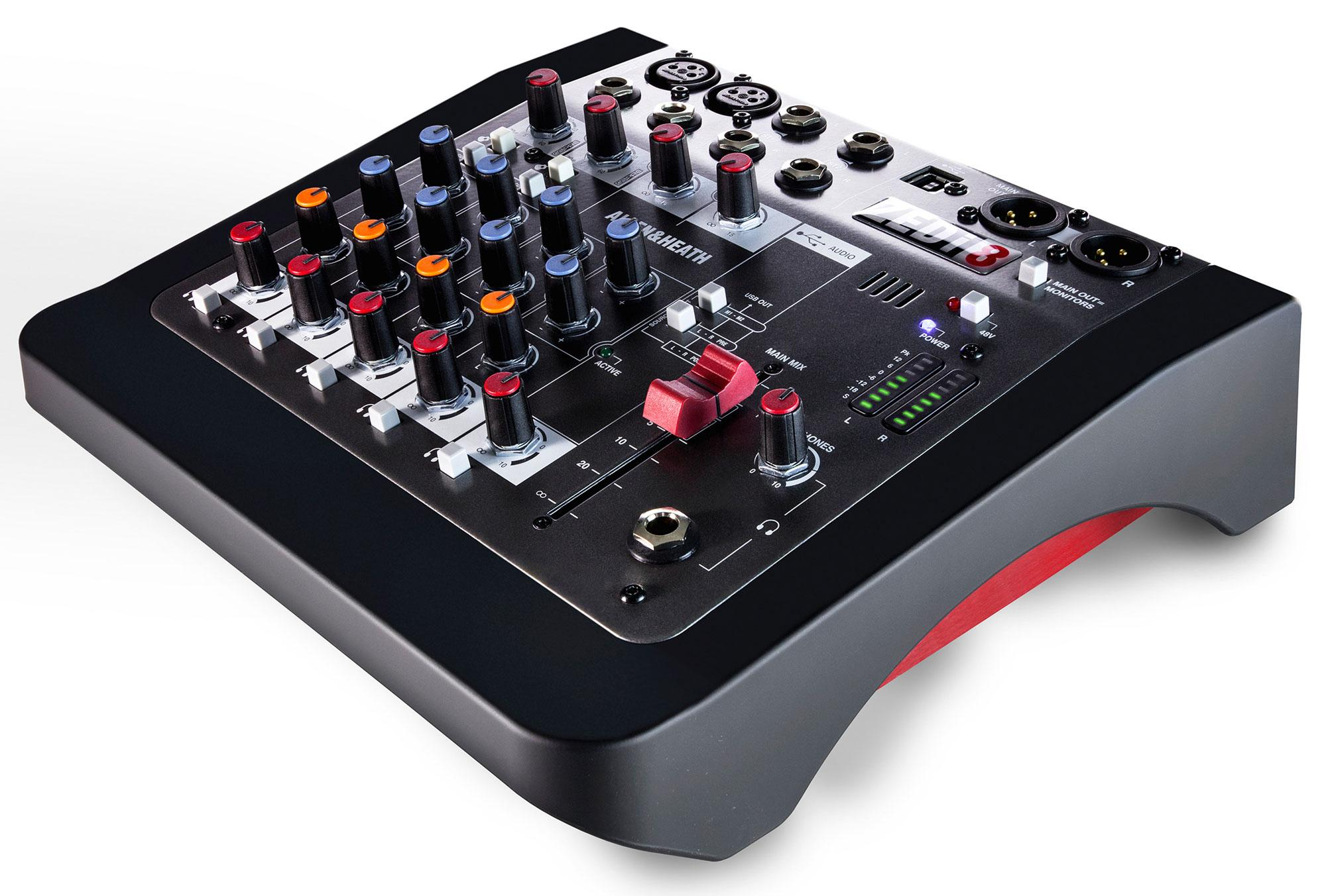 Allen Heath ZEDi 8 Hybrid Mixer und Interface