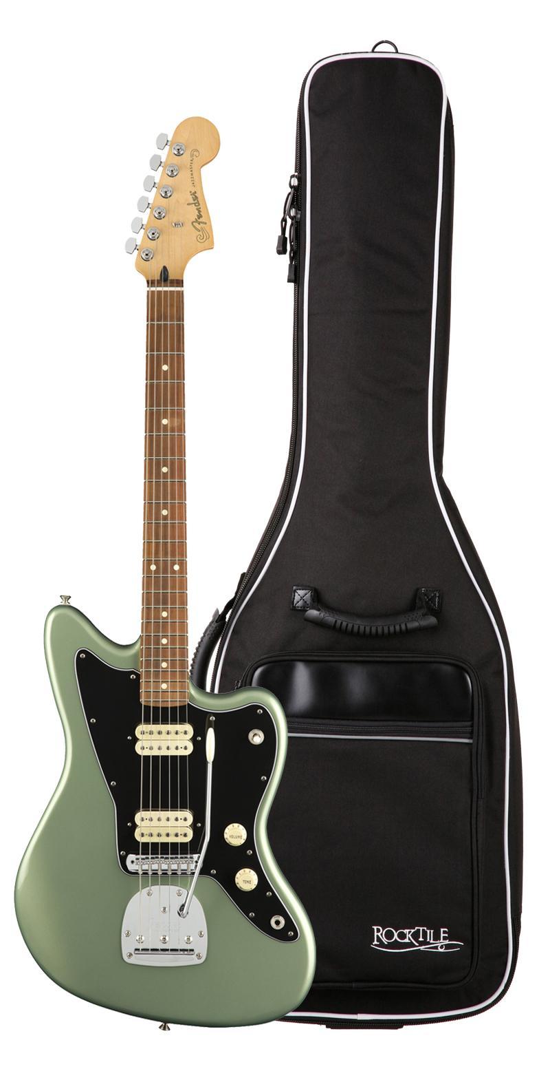 Fender Player Jazzmaster PF SGM Gigbag Set