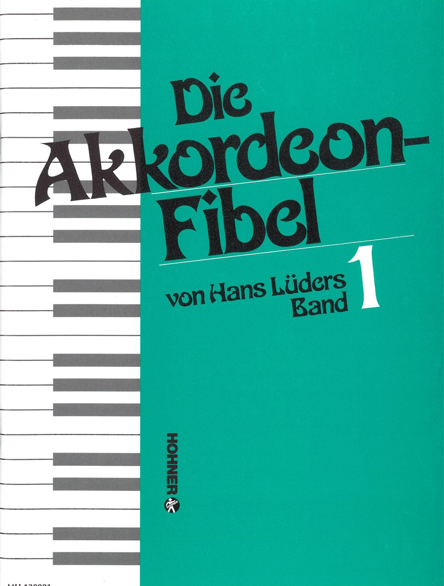 Akkordeonlernen - Die Akkordeonfibel Band 1 - Onlineshop Musikhaus Kirstein
