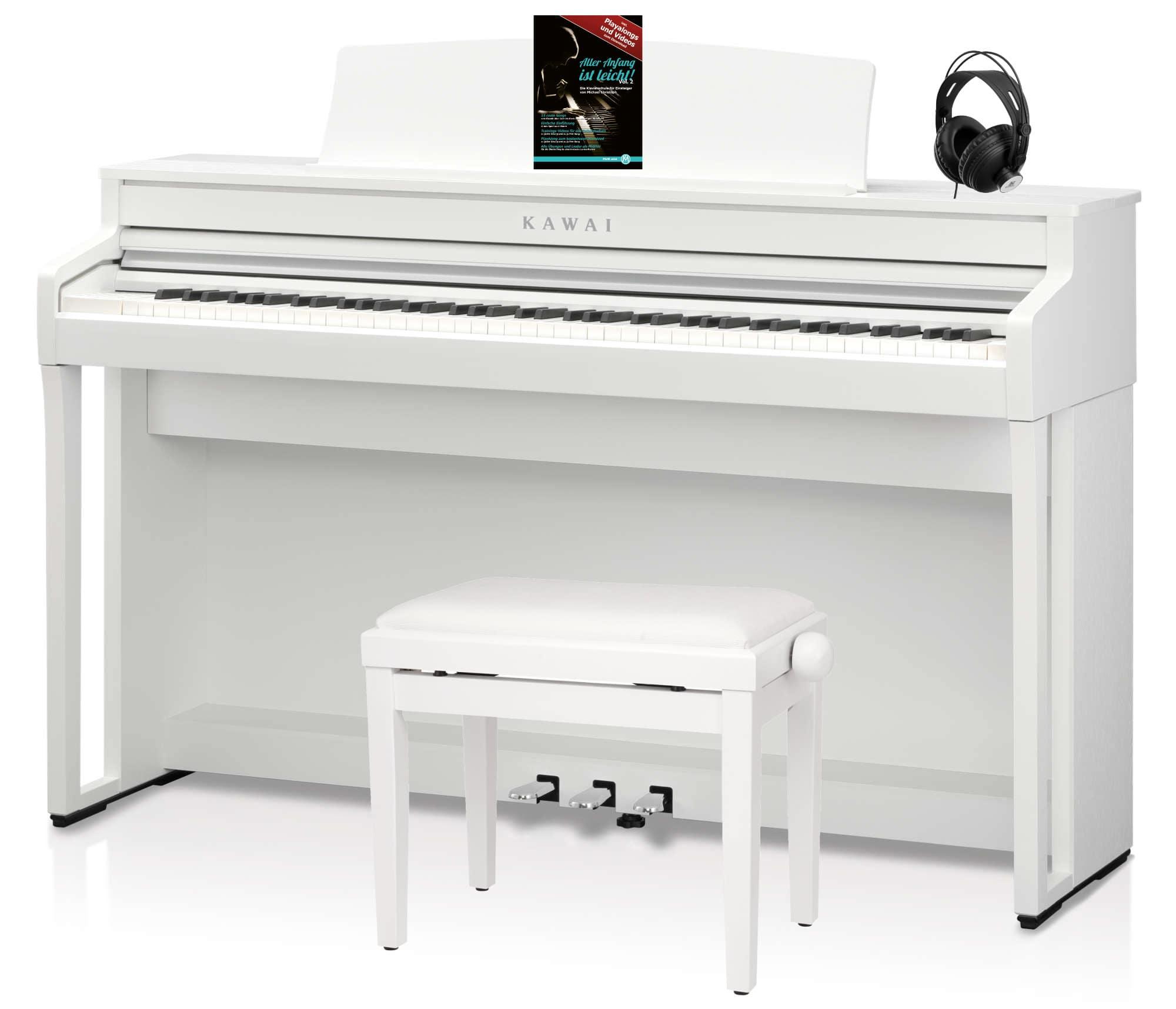 Digitalpianos - Kawai CA 59 W Digitalpiano Set Weiß - Onlineshop Musikhaus Kirstein
