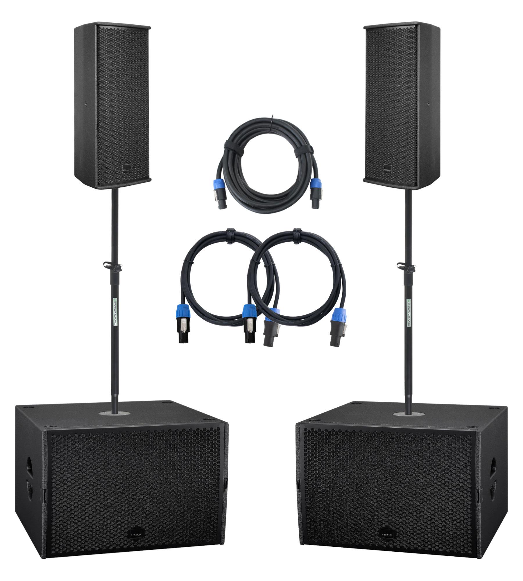 Boxenkomplettanlagen - Seeburg A3| G Sub 1501dp Stereo Extended Set - Onlineshop Musikhaus Kirstein