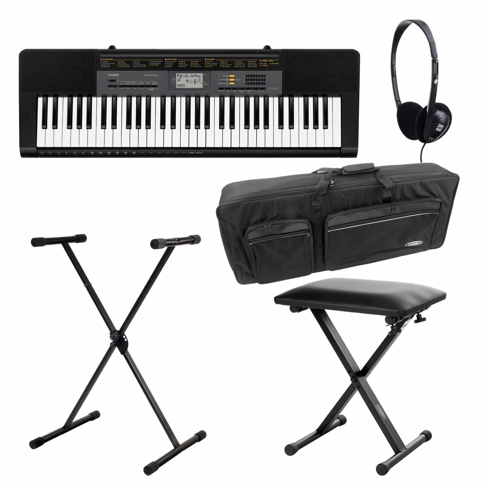 Casio CTK 2500 Keyboard Deluxe Set