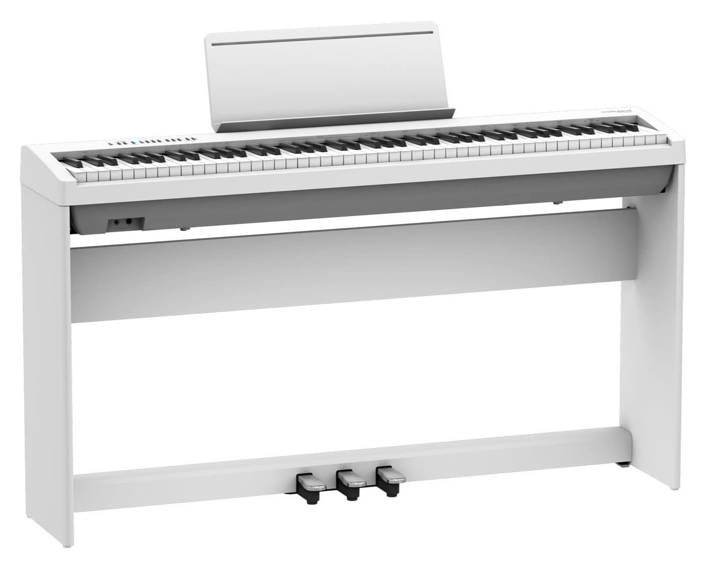 Digitalpianos - Roland FP 30X WH Stagepiano Set Weiß - Onlineshop Musikhaus Kirstein