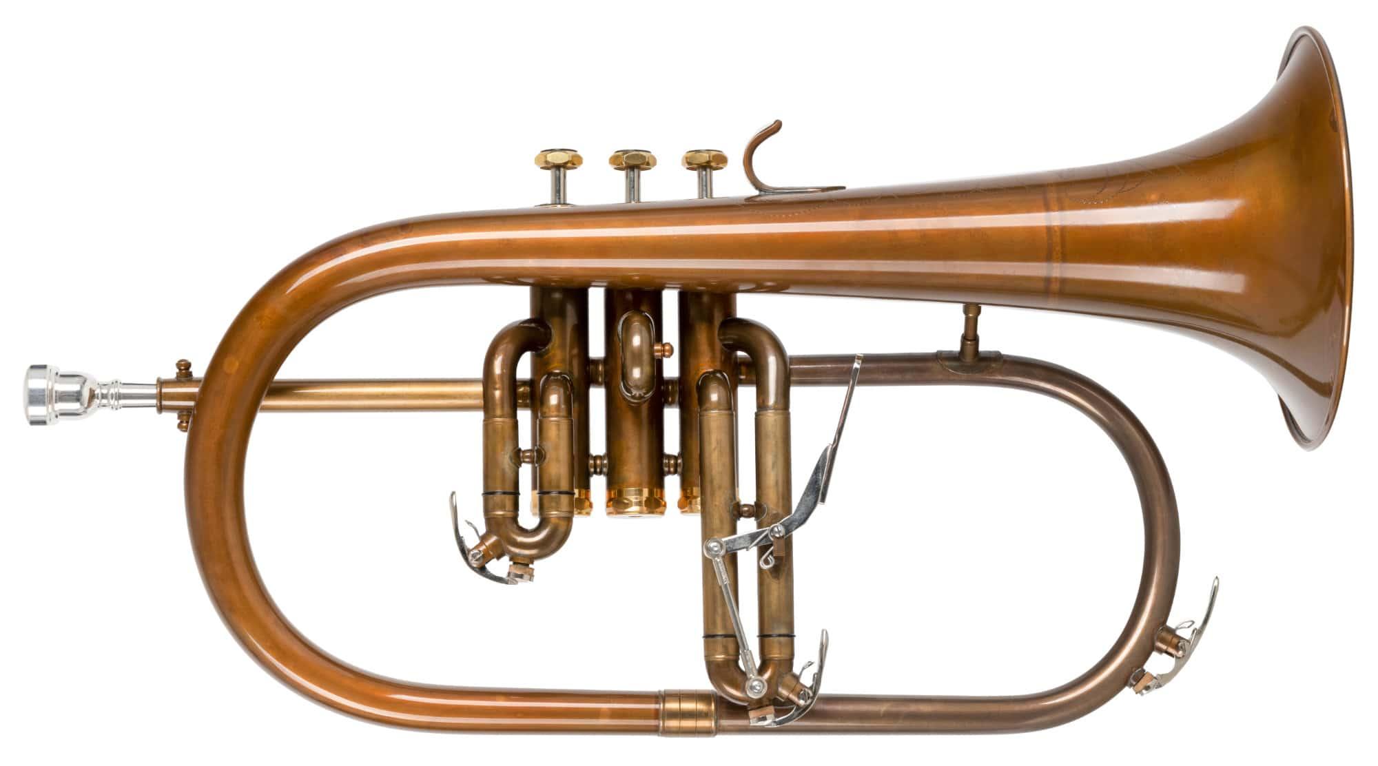 Hoerner - Lechgold FH 60GV Flügelhorn antik - Onlineshop Musikhaus Kirstein