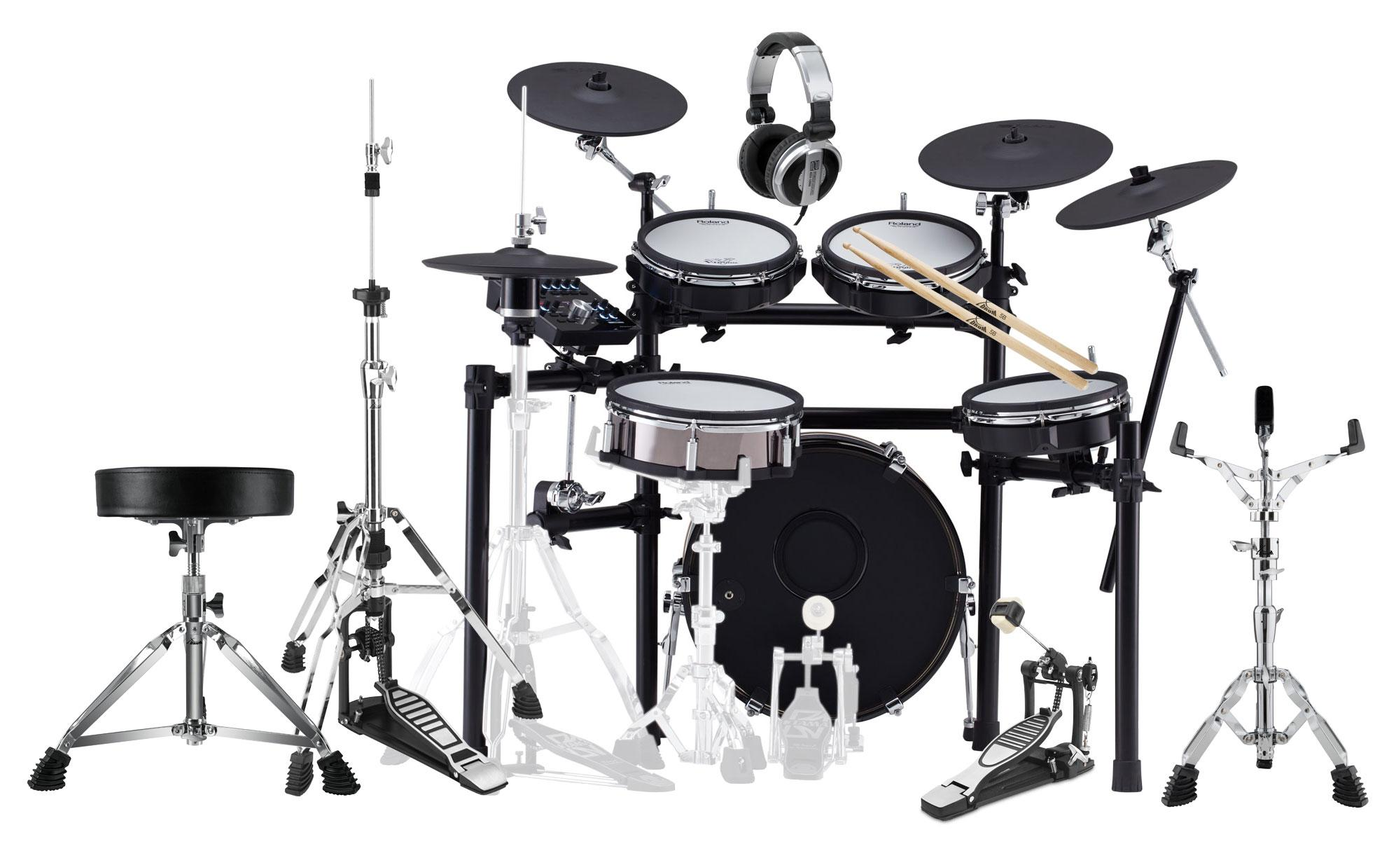 Roland TD 25KVX V Drums Set inkl. Zubehör