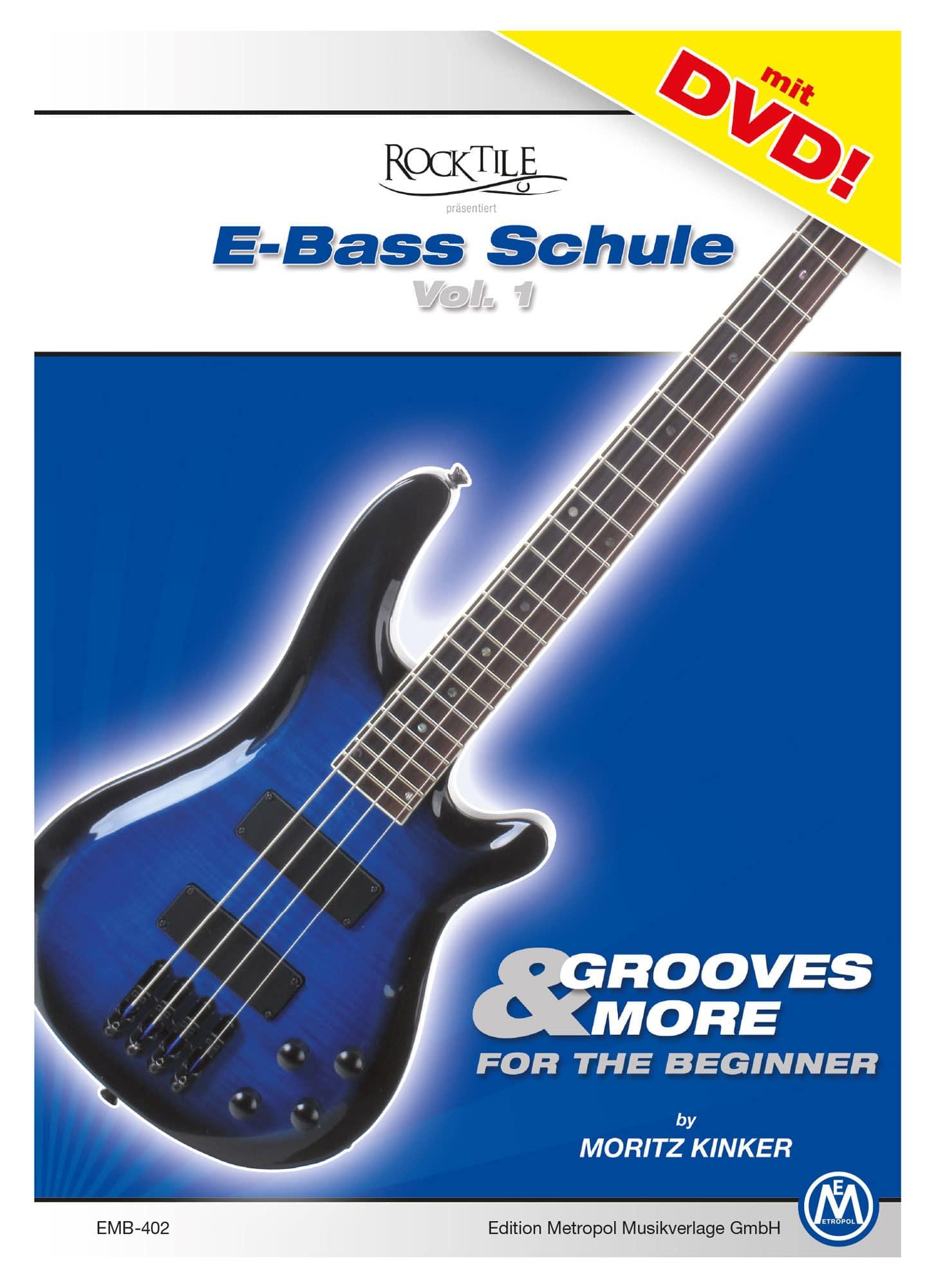 Moritz Kinker Grooves More E Bass Schule für Anfänger DVD