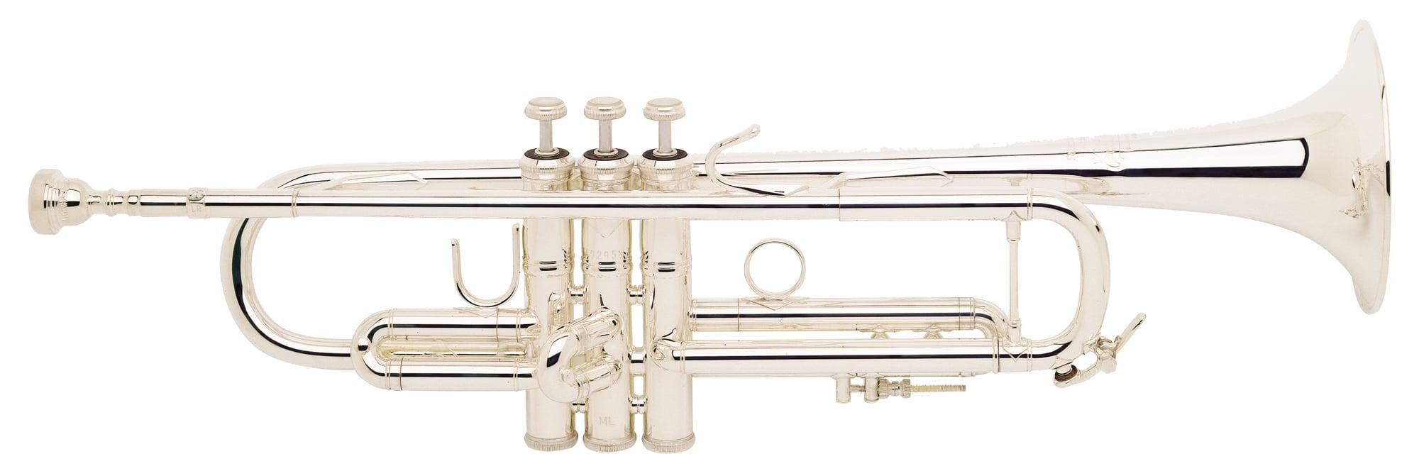 Bach LR180S 43 ML Stradivarius Bb Trompete versilbert