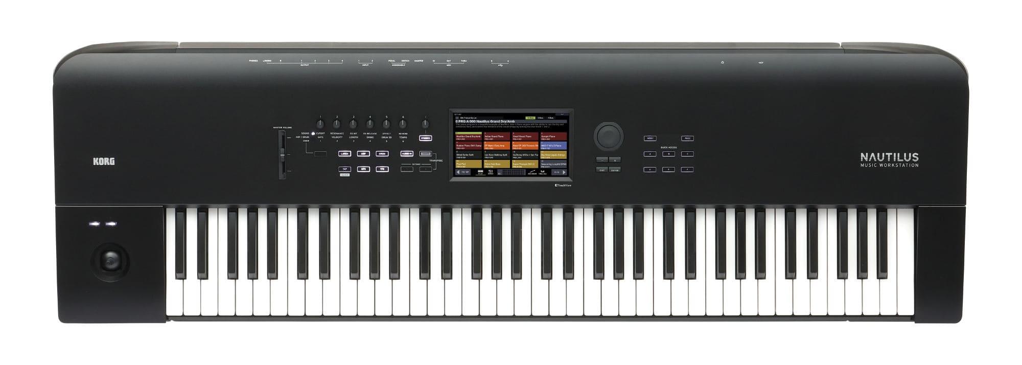 Synthesizer - Korg Nautilus 73 - Onlineshop Musikhaus Kirstein