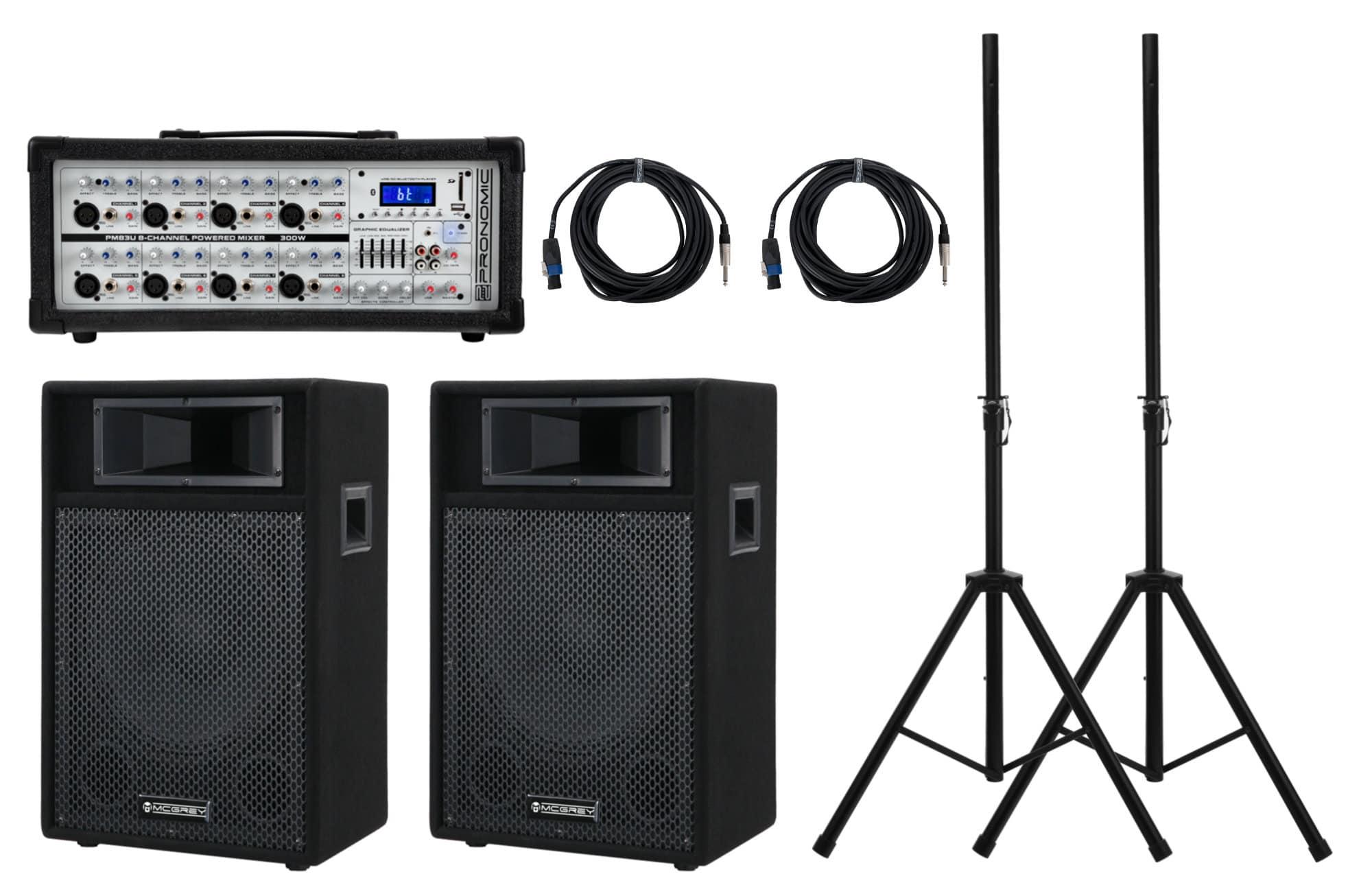 Pronomic StagePower PM83 112 PA Set