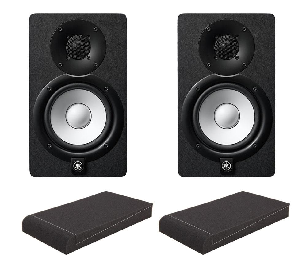 Yamaha HS5 Aktive Studio Monitore Set mit 5' Absorberplatten
