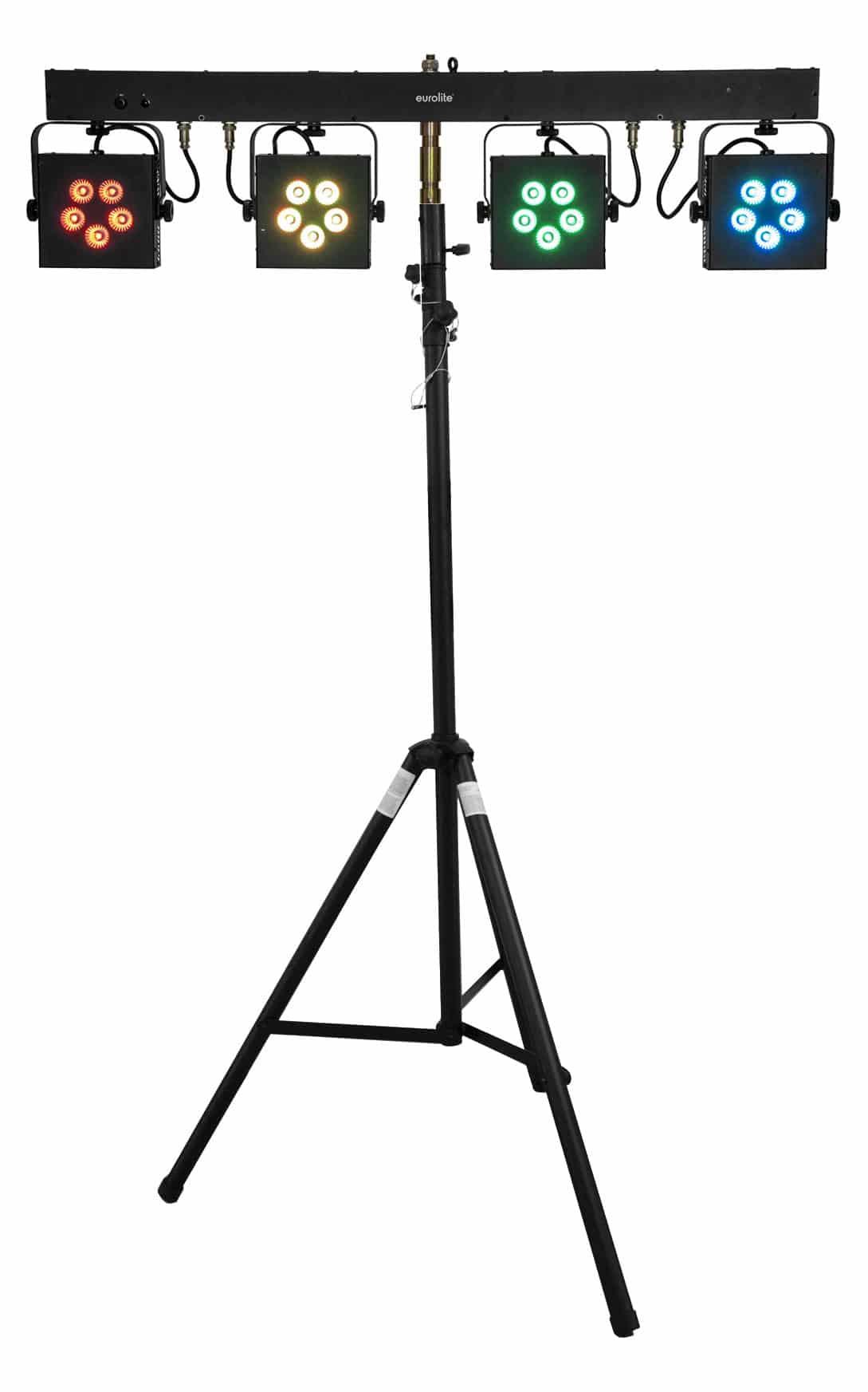 Lichtsets - Eurolite LED KLS 902 Next Kompakt Lichtset inkl. Stativ - Onlineshop Musikhaus Kirstein
